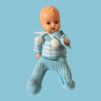 1958 8 Inch Reliable Hard Plastic Jointed Baby Doll