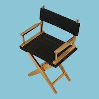 Circa 1980s Miniature Director's Chair