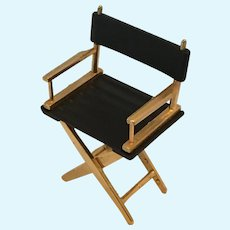 Circa 1980s Miniature Director's Chair