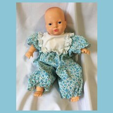 "1989  13"" Vinyl Baby Doll Marked Cititoy 89004"