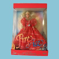 "M-I-B 11 1/2"" 'Fire and Ice' Sandi Fashion Doll with Stand"