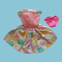 Fashion Doll 2 piece Sleeveless Pastel Cotton Sundress and Panties