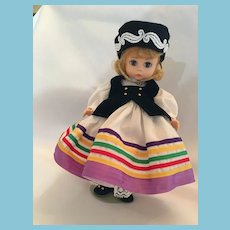 "1965 8"" Madam Alexander International Doll from Estonia"