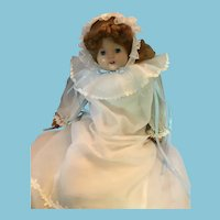 1951 Open Mouthed Two Teeth 'Artisan Raving Beauty' Strawberry Blond Unmarked Doll