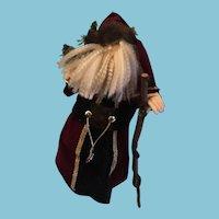 "25"" Standing Elegantly Robed St. Nickolas Figure"