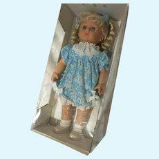 M-I-B Sears Canada Vinyl Girl doll in Original Box