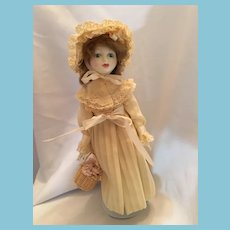 1981 Peggy Nisbet 'Vera Evelyn Sammuel' Kate Greenaway Collection Doll by Royal Doulton