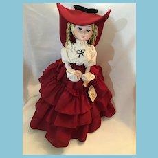 Circa 1960s - 70s Bradley Dolls 'Shane' Posable Southern Belle