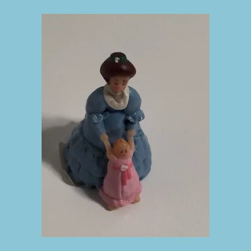 OOAK Miniature of Sandra Kuck's 'Loving Steps' (matching dolls PM-VD-RL-02)