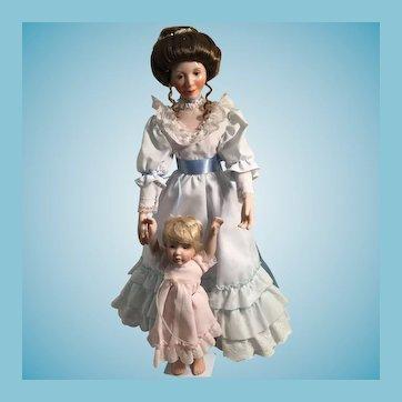 1990 'Loving Steps' Dolls by Sandra Kuck (Matching Miniature PM-VD-RL-01)