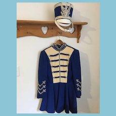 Amazing Vintage 'Uniforms by Ostwald' Majorette Dress and Shabo