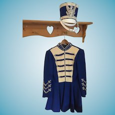 Amazing Vintage 'Uniforms by Ostwald' Majorette Dress and Shabo