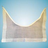 1940's - 50s White Hanky Cotton Sailor Collar