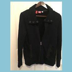 Puma/Scuderia Ferrari Black Sport Sweater/Jacket