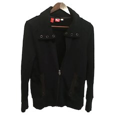 Puma/Scuderia Ferrari Black Sport Sweater/Jacket