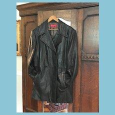 1980s  Soft Lambskin Leather Jacket by New York Designer Anne Klein