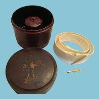 Edwardian 'Arrow' Cluett, Peabody Collar and Cuff Box and Set