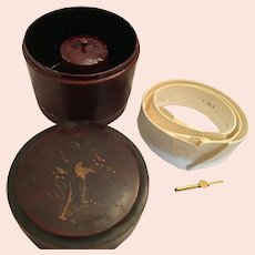 Edwardian 'Arrow' Cluett, Peabody Collar and Cuff Box and Set