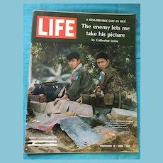 February 16, 1968 Life Magazine: North Vietnamese Soldiers