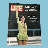 February 23, 1968 Life Magazine - Peggy Fleming, Khe Sanh