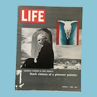 March 1, 1968 Life Magazine: Georgia O'Keeffe