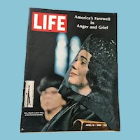 April 19, 1968 Life Magazine: America's Farewell to Martin Luther King