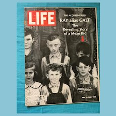 May 13, 1968 Life Magazine: James Earl Ray