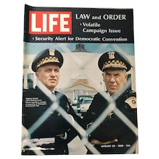 August 23, 1968 Life Magazine: Law and Order
