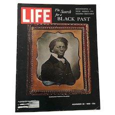 November 22, 1968: Negro History, Abolitionist Frederick Dougla