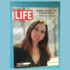 May 2, 1969 Life Magazine: Judy Collins, Cornell, Ohio Governor