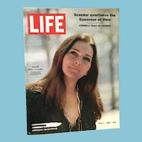 May 2, 1969 Life Magazine: Judy Collins, Cornell, Ohio Governor