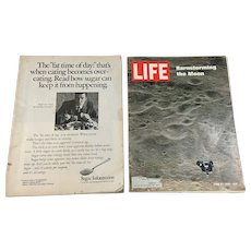 1969 Life Magazines - Appollo, Barnstorming the Moon, Greek Fashion