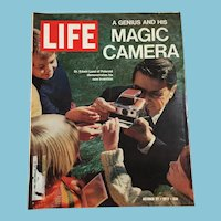 October 27, 1972 Life Magazine:Invention of the Polaroid Camera