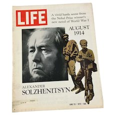 June 23, 1972 Life Magazine - Alexander Solzhenitsyn: