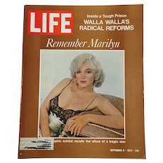 September 8, 1972 Life Magazine: Remember Marilyn: Walla Wallas