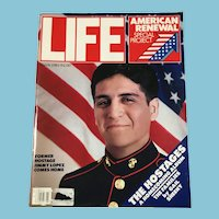 March, 1981 Life Magazine - American Renewal,Hostages Homecoming