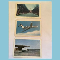 Three Early 1970s Russian Wallet Calendars