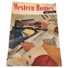 December-January 1955-56 Western Homes Magazine