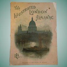 1895 'The Illustrated London Almanac'