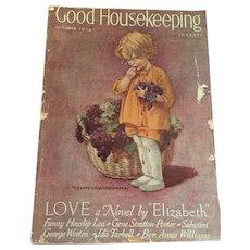 October, 1924 Good housekeeping Magazine