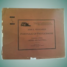 Dec. 8, 1893, John L. Stoddard's Portfolio of Photographs of Famous Cities, Scenes and Paintings