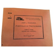 Sept. 29, 1893 John L. Stoddard's Photographs of Famous Cities, Scenes and Paintings