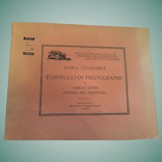Dec. 29, 1893, John L. Stoddard's Portfolio of Photographs of Famous Cities, Scenes and Paintings