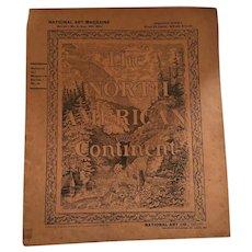 August 9, 1894, North American Art Magazine