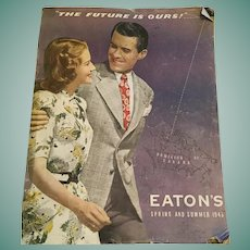 1945-46  Eaton's department store Spring and Summer Catalogue