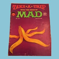 January 1968 Mad Magazine 'Take a Trip Edition' Edition
