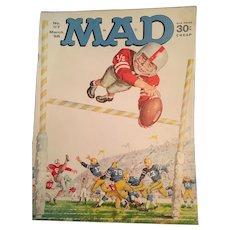 March 1968 Mad Magazine 'Football' Edition 117 Contemporary American Humor
