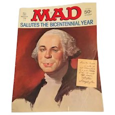 March 1976 Mad Magazine 'Salutes the Bicentennial Year' Edition