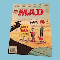 March 1982 Mad Magazine 'Last Gas for Next 200 Miles - Burp' Edition