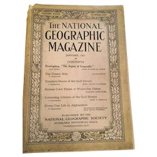 1921 'The National Geographic Magazine'
